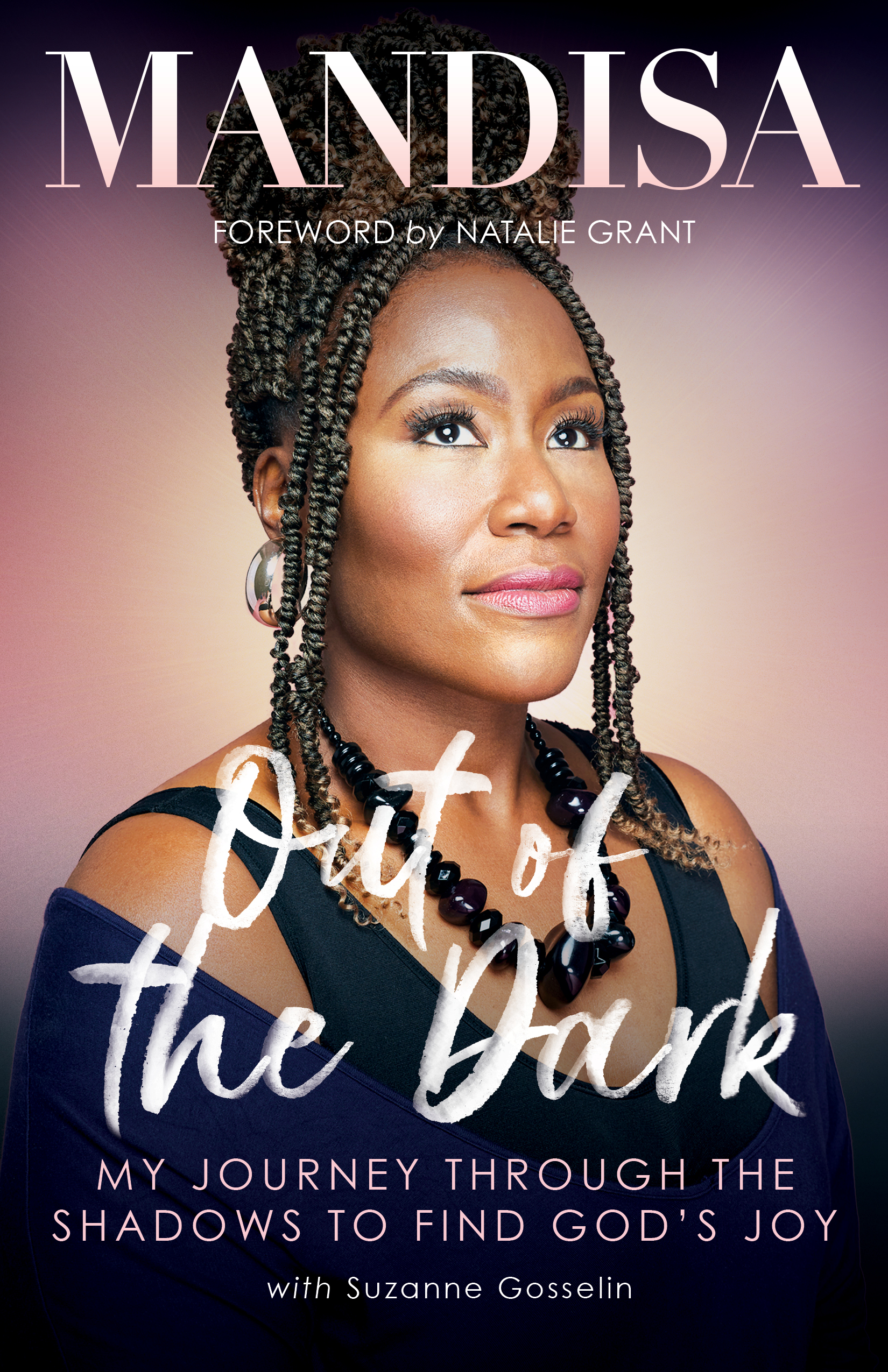 book cover - out of the dark - mandisa